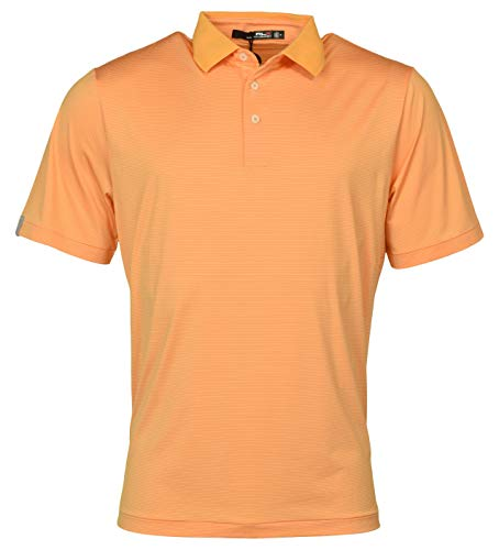 Polo Ralph Lauren RLX Golf Lightweight Stretch Performance Polo Shirt - S - Orange