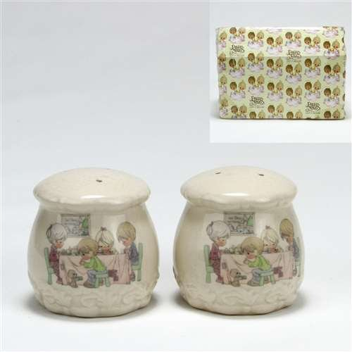 Precious Moments by Enesco, China Salt & Pepper Shakers