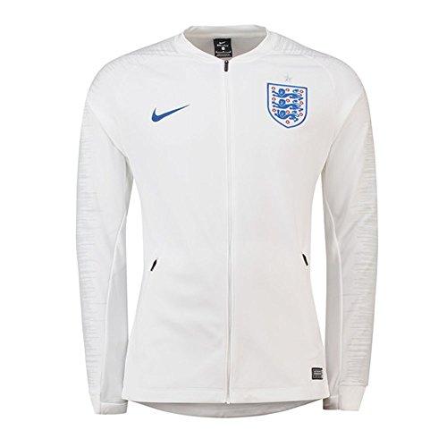 Jacket Soccer England (NIKE 2018-2019 England Anthem Jacket (White))