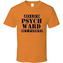 Jellico Tennessee Psych Ward Funny Halloween City Costume T Shirt
