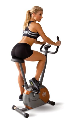Bicycle Track Stand - Marcy Upright Exercise Bike with Resistance ME-708