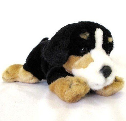 Amazon Com Keel Toys Bernese Mountain Dog Puppy 25cm Stuffed Animal