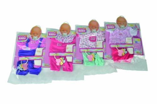 Simba 105401631 - New born Baby Bonus Pack, 4-sortiert