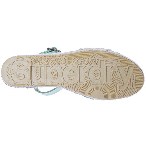 Sandales Superdry Espadrille Sofia Vert Femme qP1Px0w4n
