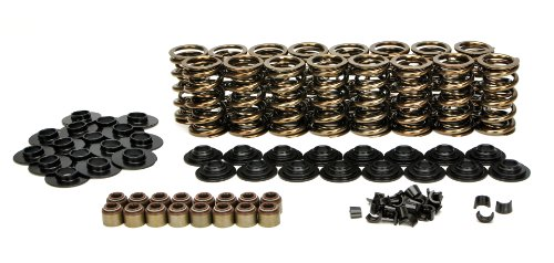 Lunati LS1 LS2 LS3 LS6 LS7 Chevy Gold Dual Valve Spring Kit 660 Max Lift 73925K1 ()