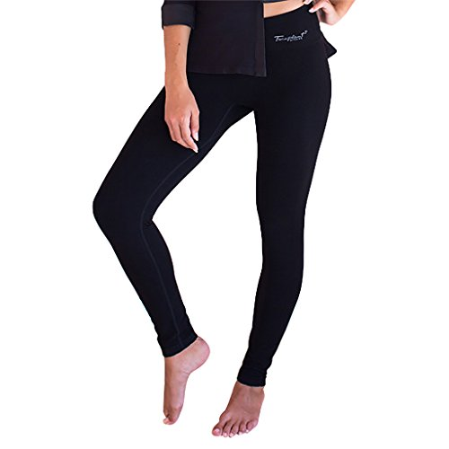 - Faceplant Dreams Dreamwear Bamboo Leggings (Small), Black