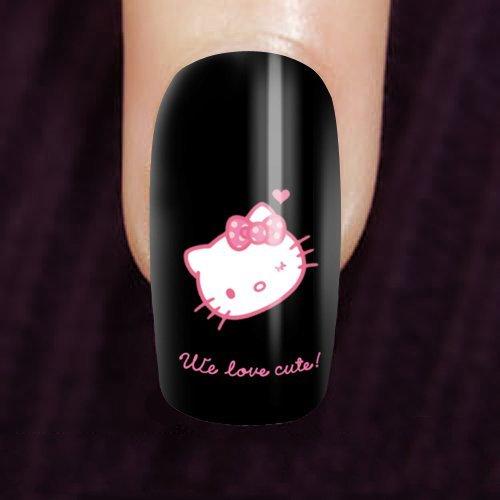 Amazon.com: Custom hello kitty Kit de uñas Nail Art Set 20 ...