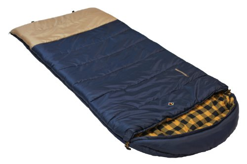 Cheap Ledge Sports Nevada +0 F Degree XL Oversize Flannel Lined Sleeping Bag (90 X 40)