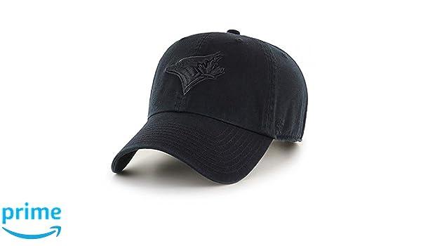 128fc28d764 ... cheap 47 brand toronto blue jays clean up mlb dad hat cap black black  at amazon