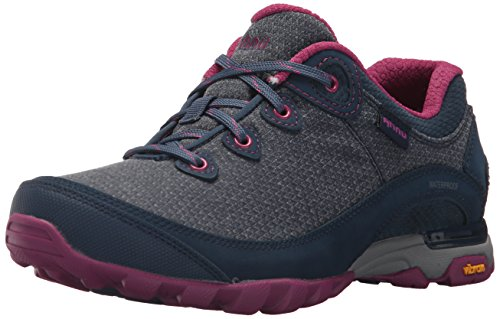 Ahnu Women's W Sugarpine II Waterproof Hiking Boot, Insignia Blue, 7.5 Medium (Blue Hiking Boots)