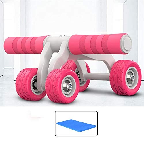 Durable Ab Roller Wheel Exercise Fitness Equipment - Ab Wheel Exercise Fitness Equipment - Ab Wheel Roller For Home Gym - Ab Machine For Ab Workout - Ab Workout Fitness Equipment - Abs Roller Ab Train (Best Exercise To Have Abs)