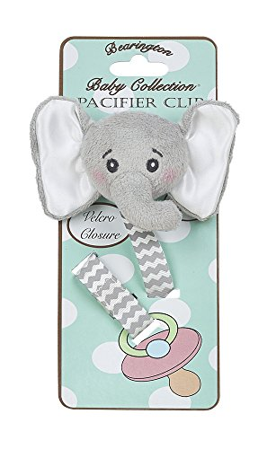 Bearington Baby Lil' Spout Pacifier (Baby Safari Boy Collection)