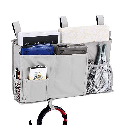 Bedside Caddy Bed Caddy Storage Organizer Hanging Bag for Hospital Bed Bunk Desk Office Car Backrest Dorm Bed Rails Baby Bed Baby Cart 8 Pockets - Caddy Rails