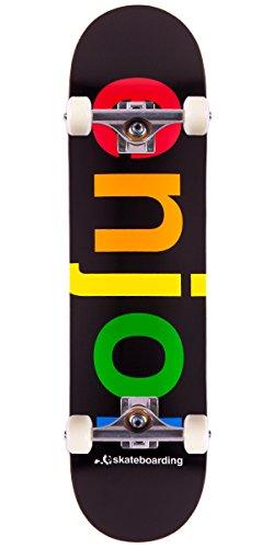 (Enjoi Spectrum Hybrid Skateboard Complete - Black - 8.0)