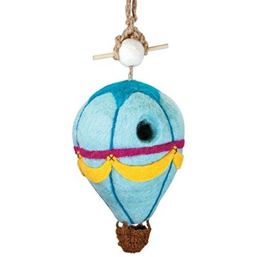 Wild Woolies Felt Birdhouse - Hot Air Balloon