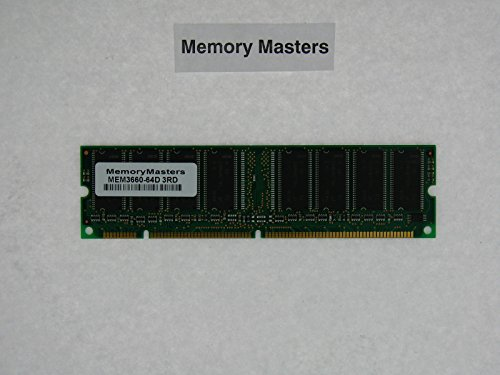 - MEM3660-64D 64MB DRAM DIMM MEMORY FOR CISCO 3660 ROUTER(MemoryMasters)