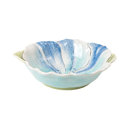 Paisley Park Collection, Floral Serving Bowl, (Fitz & Floyd Round Bowls)