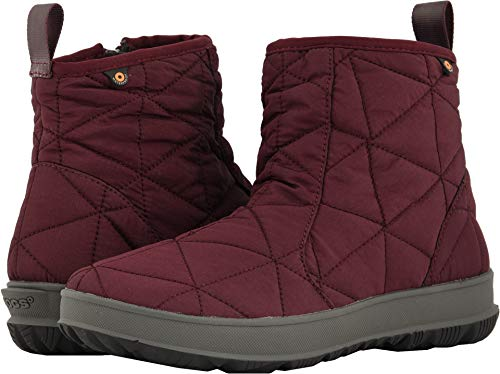 "Bogs Snowday Low 6"" Women's Boot 10 B(M) US Wine"
