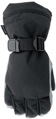 Grandoe Men's Hybrid Glove (Graphite/Black, Small)