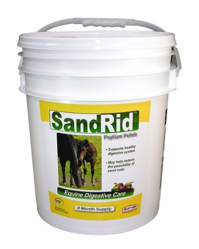 DURVET/EQUINE 699629 Sandrid Psyllium Pellets for Equine, 20 lb