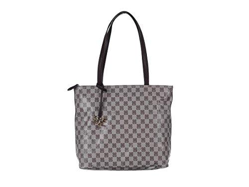 PIERO GUIDI Borsa Shopping Donna 6109C 3082 08 Marrone Primavera Estate 2018