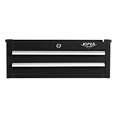 Amazon.com Viper Tool Storage V2602ICBL 2-Drawer 18G Steel Intermediate Tool Chest 26  Black Home Improvement  sc 1 st  Amazon.com & Amazon.com: Viper Tool Storage V2602ICBL 2-Drawer 18G Steel ...