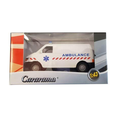 HTC Voiture 1//43 CARARAMA Camion Ambulance