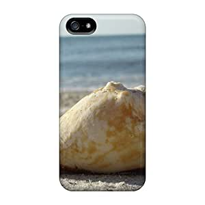 E-Lineage Coquillage Durable Iphone 5/5s Flexible Soft Case