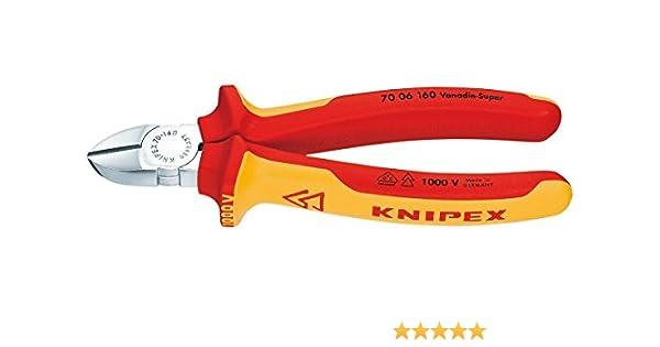 Knipex - Alicate Corte Diagonal 1000V. 7006160: Amazon.es: Bricolaje y herramientas