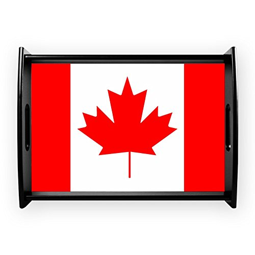 (Large Serving Tray Canadian Canada Flag HD)