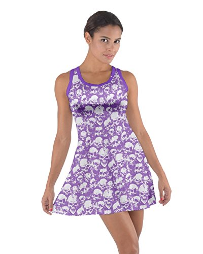 CowCow - Vestido - para mujer Violet Material #2