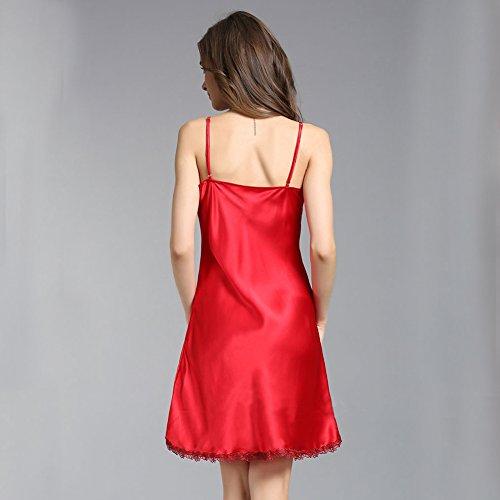 LSHARON - Camisón - para mujer Rosso