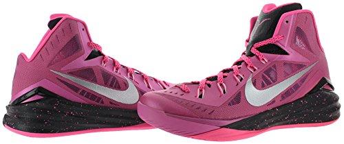 Nike Jordan Kinder Jordan Jumpman Pro BG Rosa Feuer Ii / Hyper Pink / Schwarz / Metallic Silber