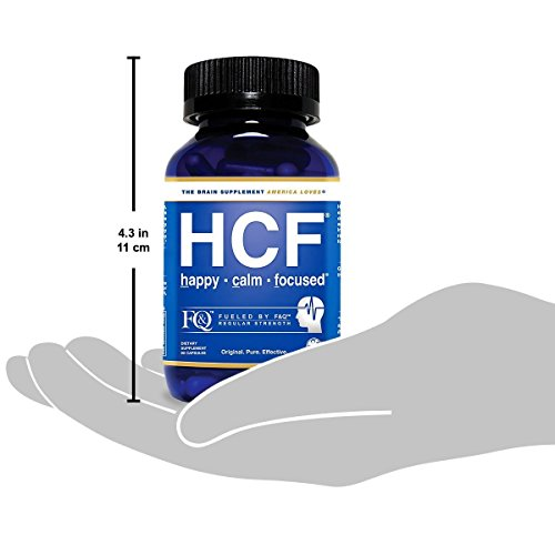 Brain Supplement for Memory, Focus, Attention, Mood. Increase Energy, Concentration, Clarity, Alertness. Improve Learning Abilities, Sleep Quality. Neuro Booster with Amino-Acids, Vitamins. 2 Bottles. by HCF (Image #4)