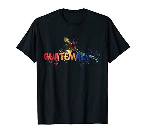 (Guatemala, quetzal, tropical style T Shirt)