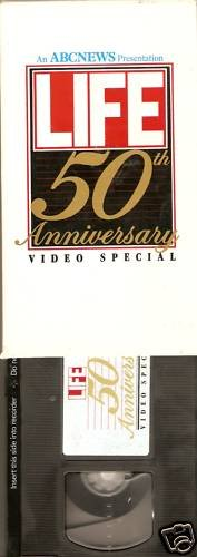 ABC NEWS Life 50th Anniversary Video Special VHS (Abc News Vhs compare prices)