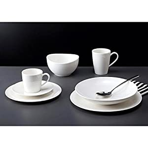 vivo by villeroy boch group 12 piece voice basic dinner set kitchen home. Black Bedroom Furniture Sets. Home Design Ideas