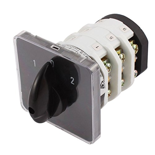 72 AC 690V 32A 3 Position Electric Rotary Selector Ca ()