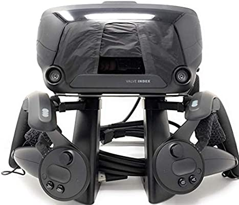 TNE VR Stand Headset Display Mount Station and Controller