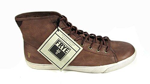 Frye Men's Chambers High Brown Sunwash Nubuck Boot 10.5 D - Medium