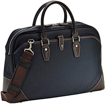 平野鞄 ビジネスバッグ ショルダーバッグ メンズ ブリーフケース B4 A4 ショルダー付き 2WAY 通勤 ビジネス 黒 紺 ブラック ネイビー 横幅44cm +オリジナル高級ムートングローブ