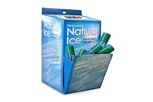 Natural Ice Medicated Lip Protectant/Sunscreen SPF 15, Multi-Pack, Original