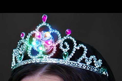 Light Up Flashing Princess Tiara Headband - 12 Pack - Tons of Fun for That Next Big Party and New Year's Eve!