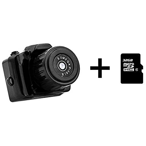 dizauL - Cámara réflex digital mini (HD 720P, SLR, Mini DV) + ...