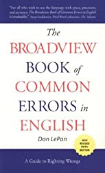 The Broadview Book of Common Errors in English: A Guide to Righting Wrongs, 5th Edition