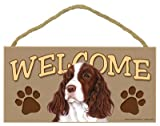 Springer Spaniel Welcome Sign 5