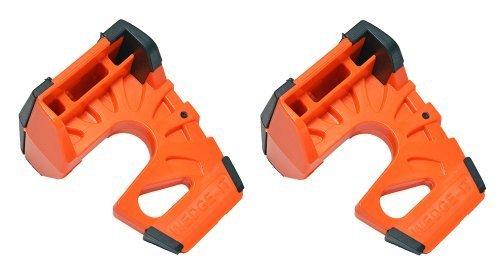 Wedge-It - The Ultimate Door Stop - Orange (2 Pack)