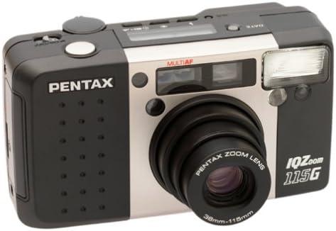 B00004SGBB Pentax IQ Zoom 115G QD Date 35mm Camera 41ZD3M5M2ML.