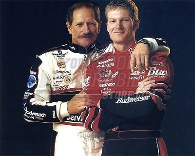 Dale Earnhardt Dale Earnhardt Jr hug 8x10 11x14 16x20 photo 274 - Size (Dale Earnhardt Photo)