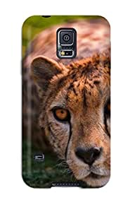 New Arrival Premium S5 Case Cover For Galaxy (cheetah Lying)